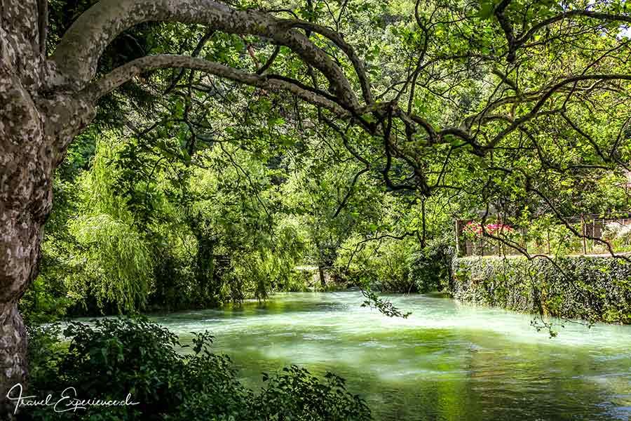 Slowenien, Vipava, Quelle