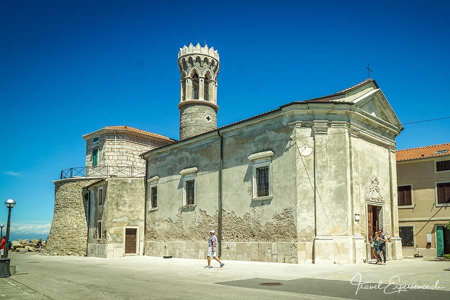 Slowenien, Piran, Kirche St Clementa
