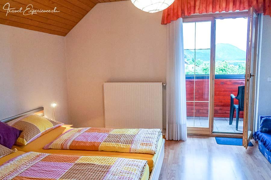 Slowenien, Bled, Haus Alexandra, Schlafzimmer