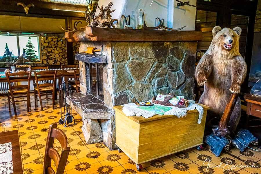 Slowenien, Bled, Restaurant