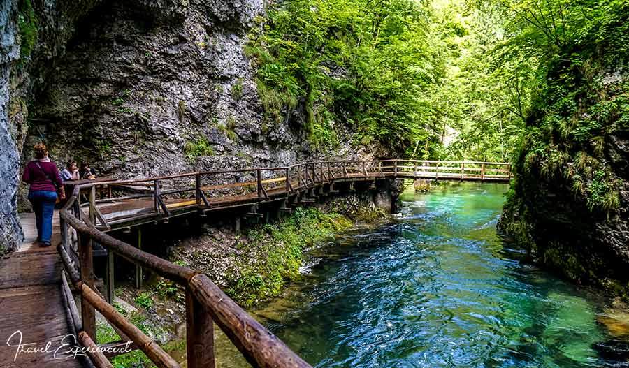 Slowenien, Vintgar Klamm