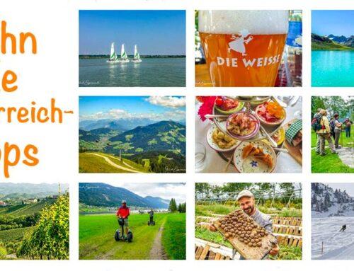 10 Tipps, die in Österreich angesagt sind