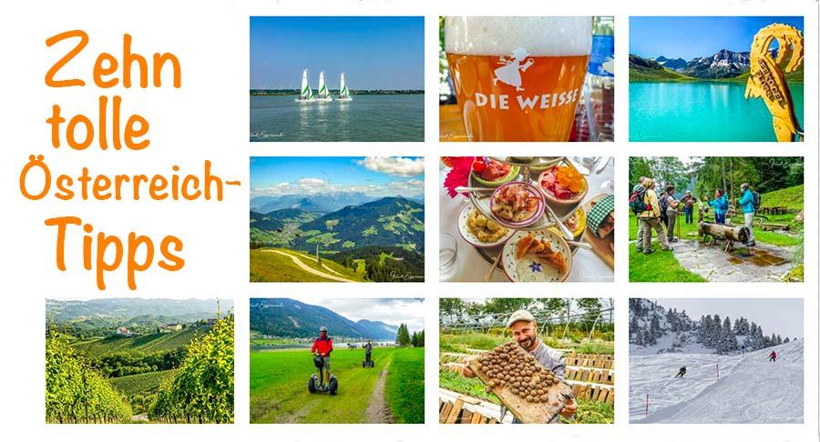 Aufmacherbild 10 österreich tipps