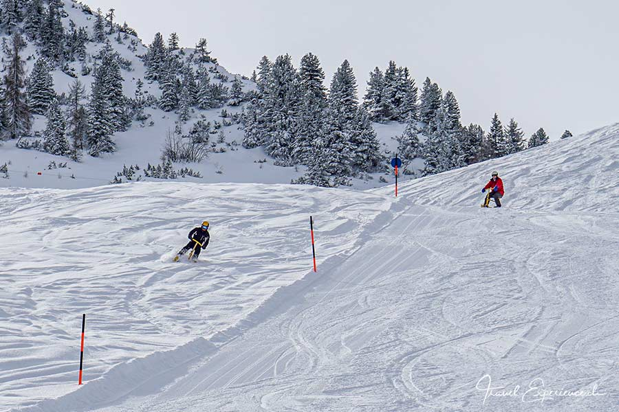 Snowbiken im Zillertal