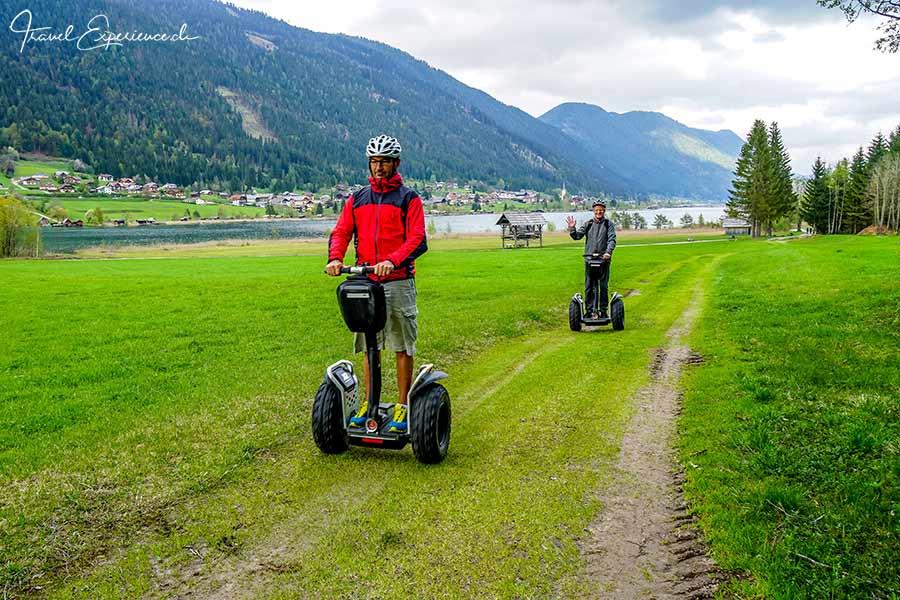 Segway-Fahren am Weissensee in Kärnten