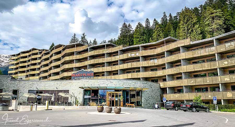 Peaks Place, Laax, Graubuenden, Schweiz