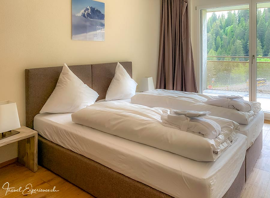 Schlafzimmer, Apartment-Hotel, Peaks Place, Laax
