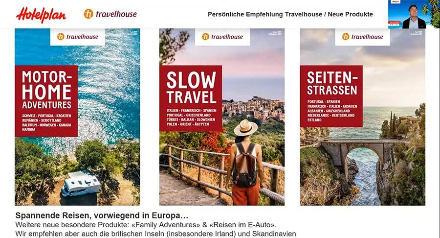 Reisen buchen zu Coronazeiten Cover von Ferienkatalogen