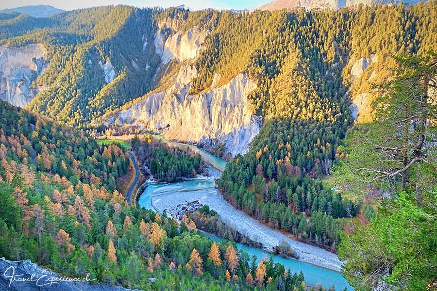 Rheinschlucht, Graubünden