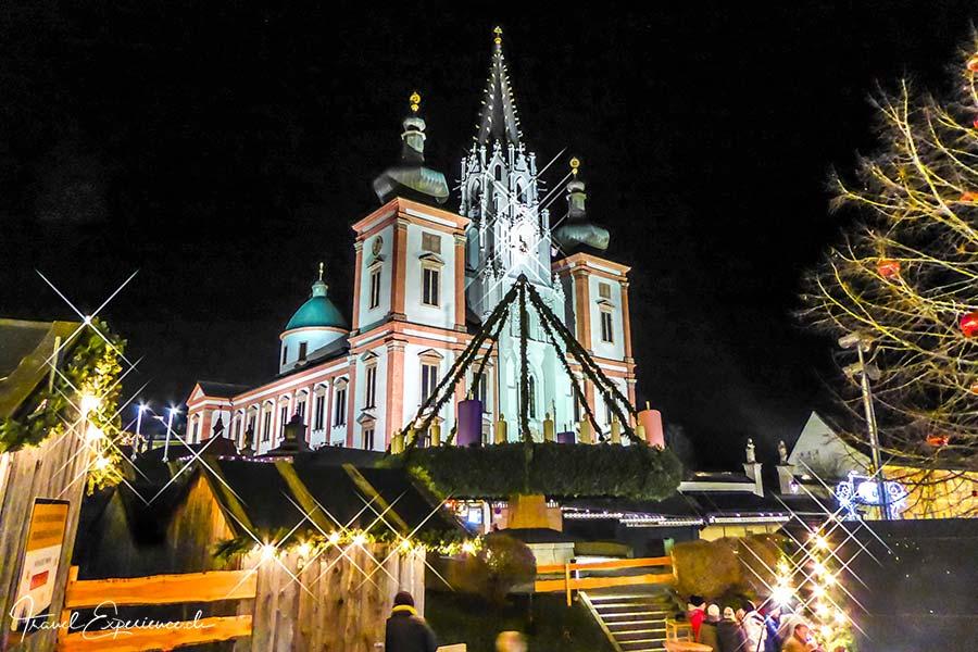 Basilika Mariazell, Weihnachtsmarkt, Adventmarkt
