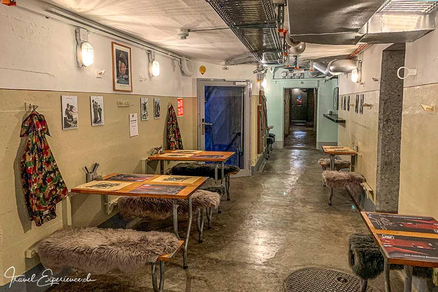 Café im Fort de Chillon