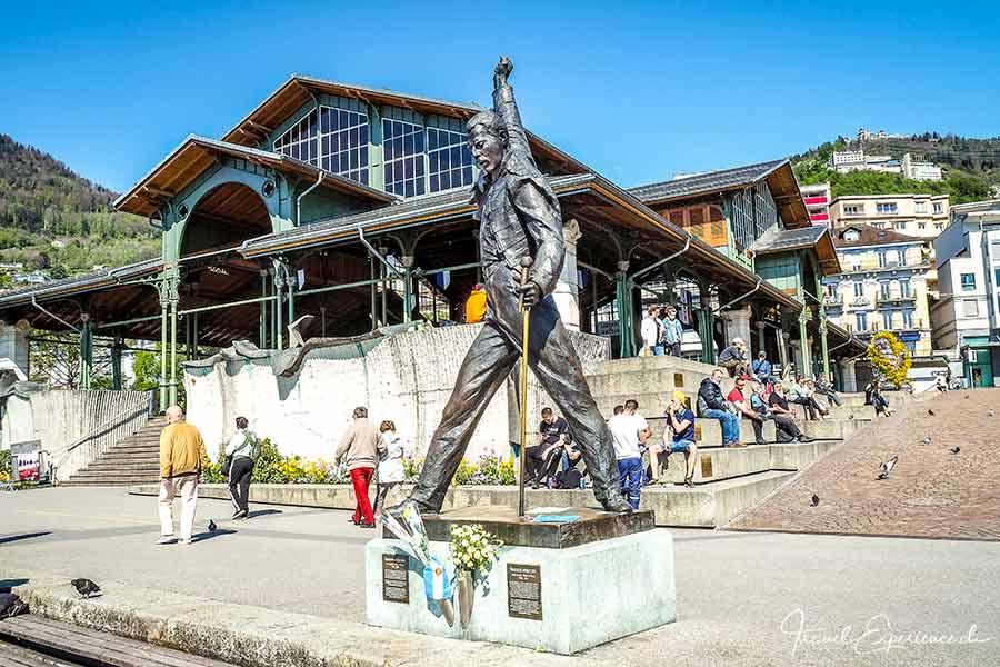 Montreux, Statue, Freddie Mercury