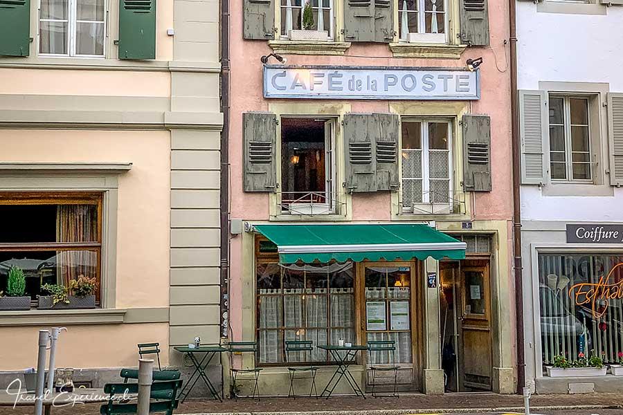 Café de la Poste in Cully