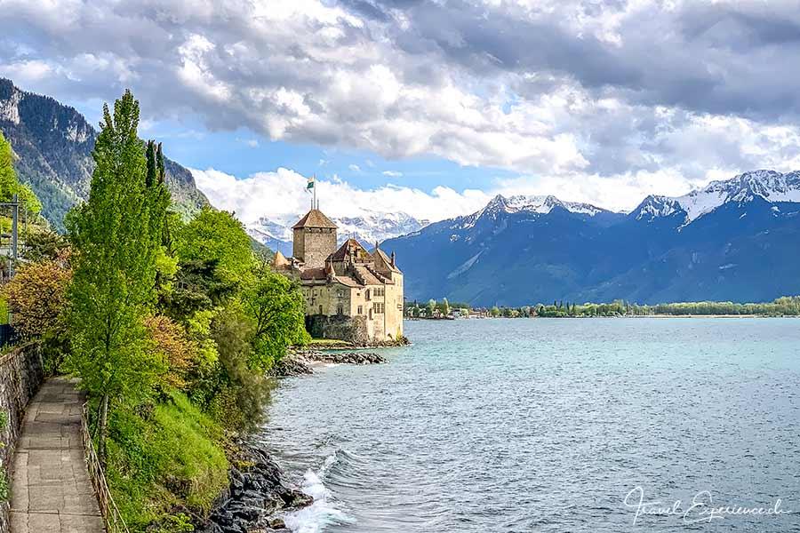 Schloss Chillon bei Montreux